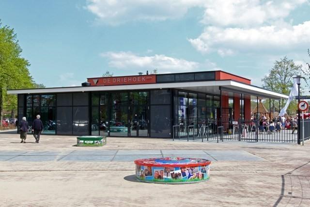 Nieuw gebouw speeltuin de Driehoek